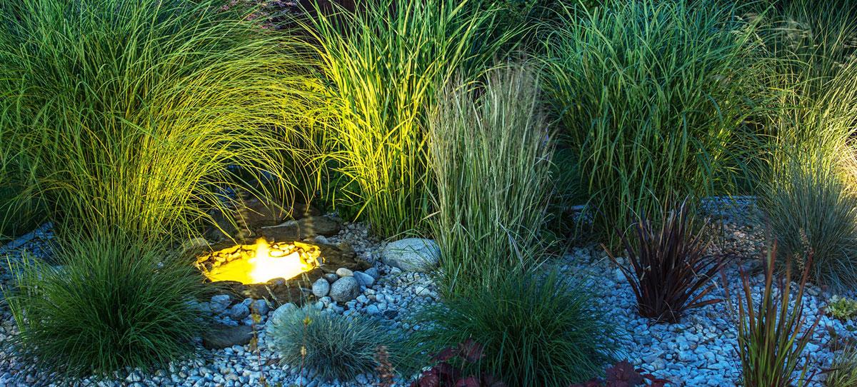Licht klein gartengestaltung landschaftsbau for Gartengestaltung klein